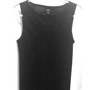 Eileen Fisher Long Black Dress,Sz M,Irish Linen PE